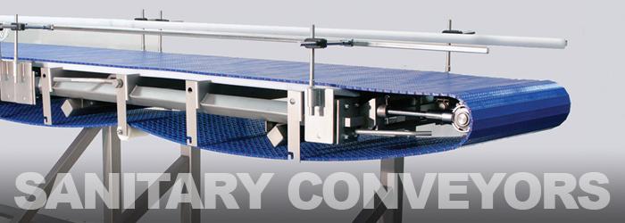 Food Processing Conveyors Sanitary Belt Conveyor